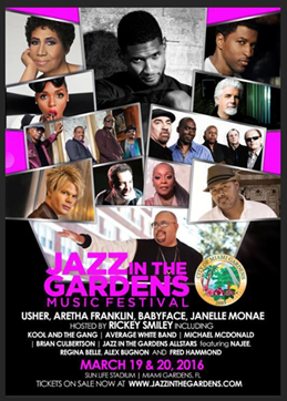 Spectacular Line-up Geared for the 11th Annual Jazz in the Gardens