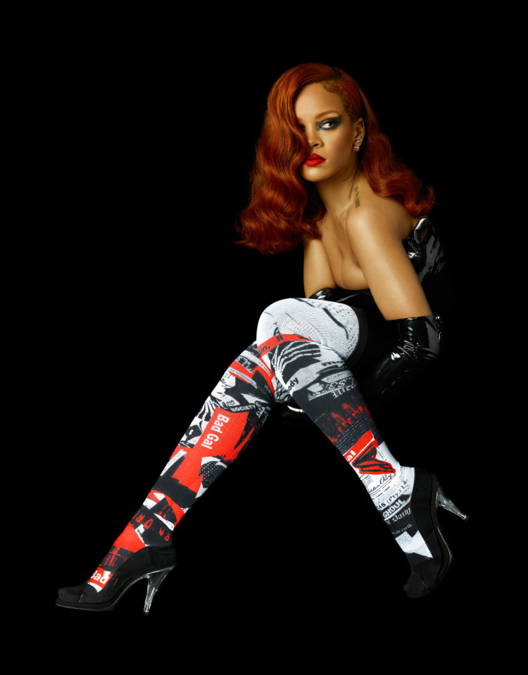 Power Diva! Rihanna is Contributing Creative Director and Punk & Poet for Stance CARPET