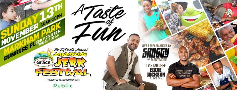 grace jamaican jerk festival, markham festival, sunrise, festival
