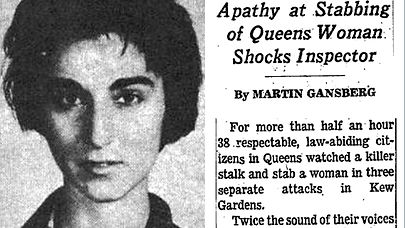 Kitty Genovese Apathy Bystander Queens Derailed