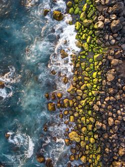 Côte rocheuse Tri-colore