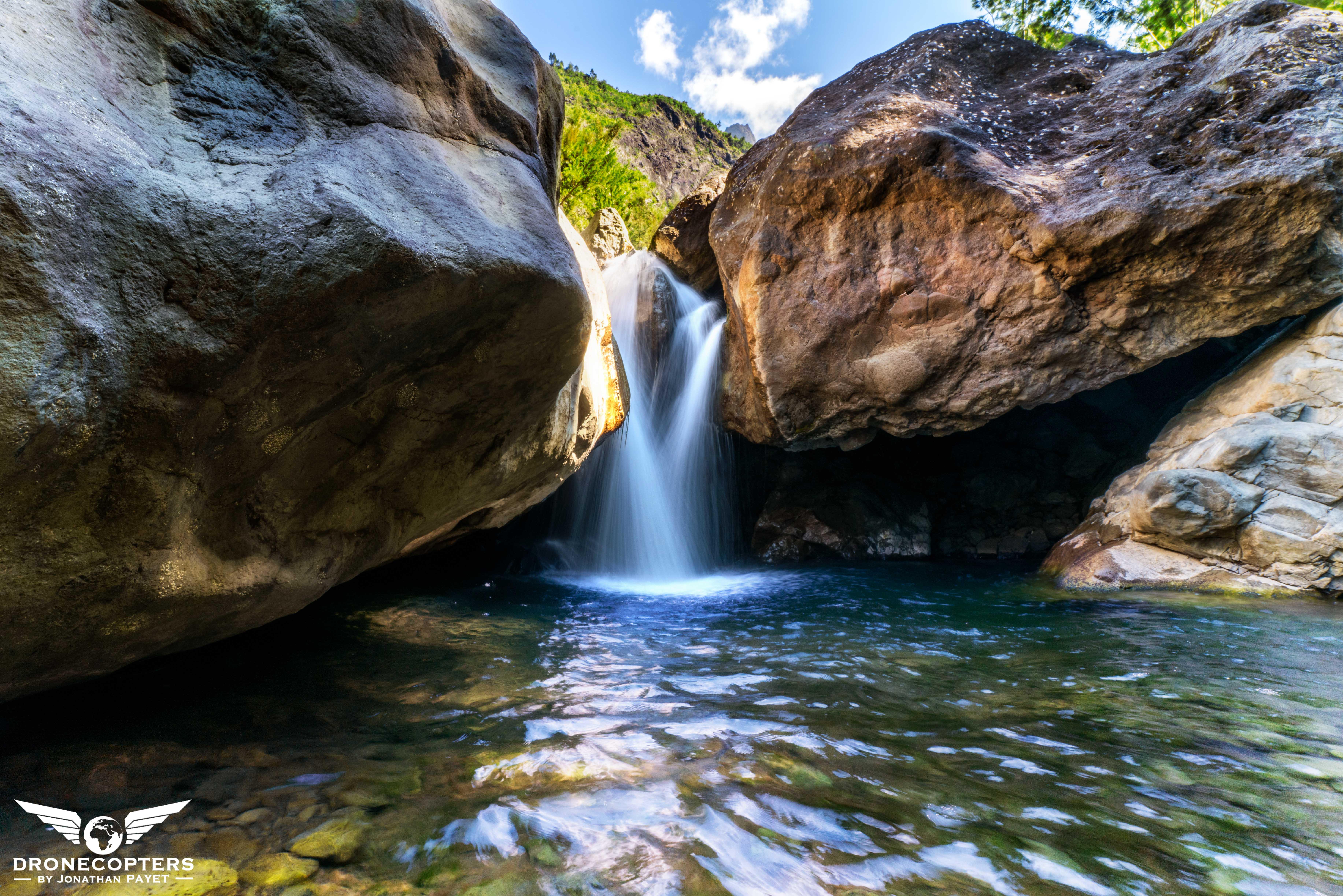 Cascade de la Grotte - Cilaos