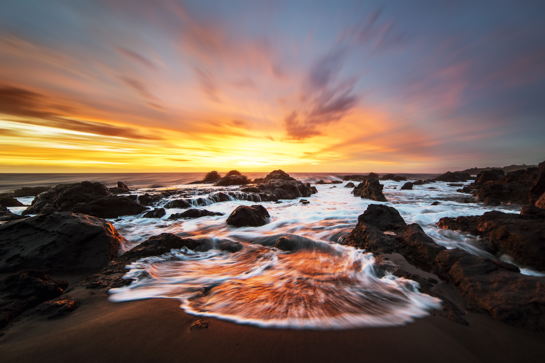 Best Sunset drone Reunion