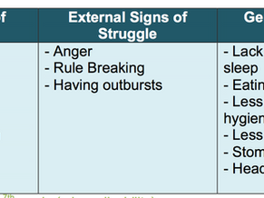 MH3 - Signs of Mental Health Struggles in Children