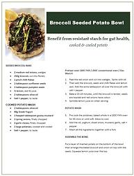 Broccoli Seeded Potato Bowl