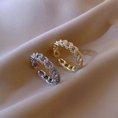 18K Cuban Ring