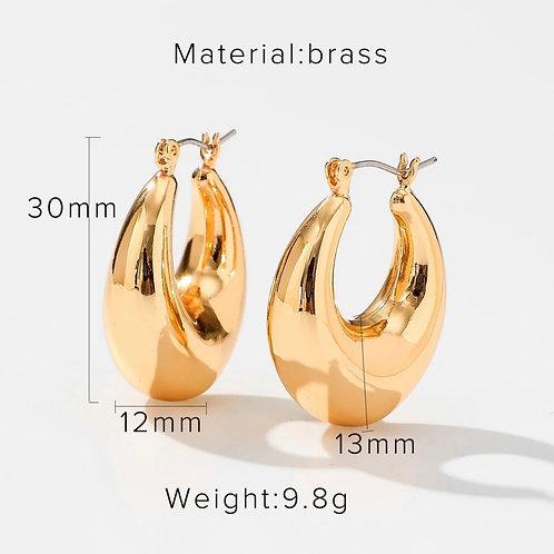 XL Crest Earrings