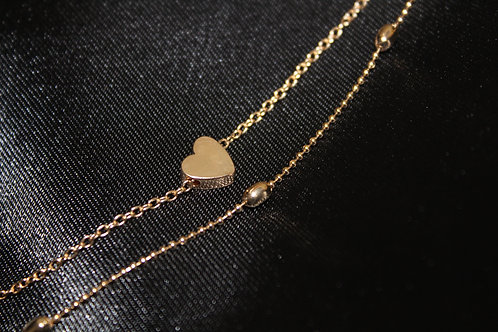 Double Love Anklet