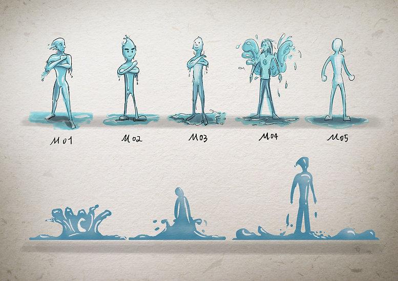 character design waterman