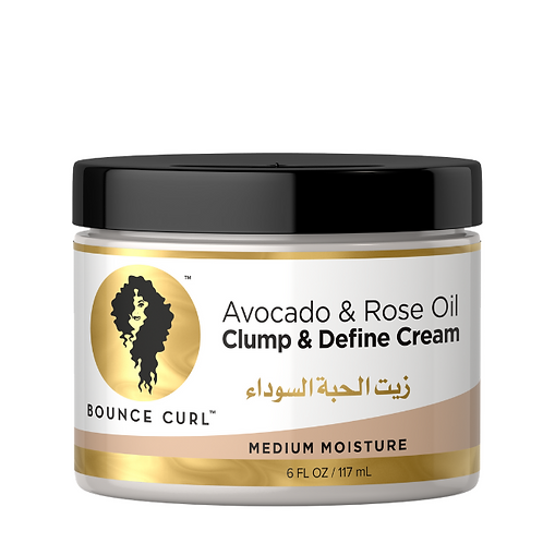 Avocado and Rose oil clump and define cream