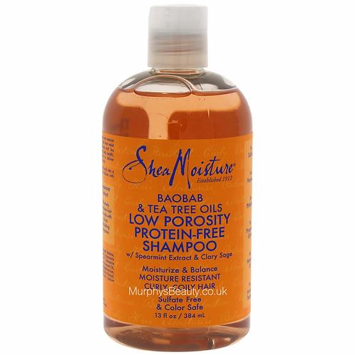 Shea Moisture  Baobab & Tea Tree  Oils Low Porosity Protein-Free Shampoo