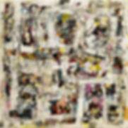 2- Intersections- 150 x 150 cm- Acylic o