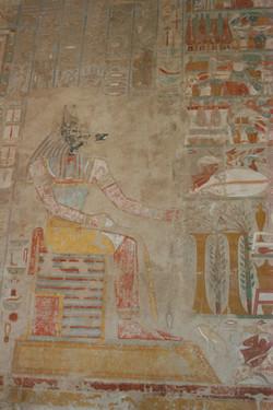 Anpu at Hathsepsut