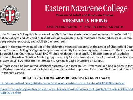 ENC Richmond Campus - Job Opening