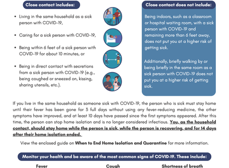 What to do if you were exposed to coronavirus disease (COVID-19)?