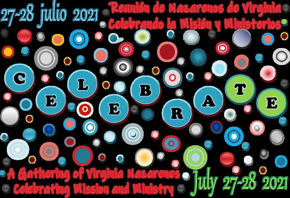 CELEBRAte VA District Assembly Logo 2021