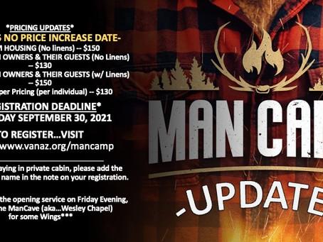 VA Naz Man Camp 2021 : October 29-31, 2021