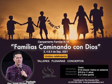 2021 Hispanic Ministry Family Camp / Campamento Familiar Ministerios Hispanos