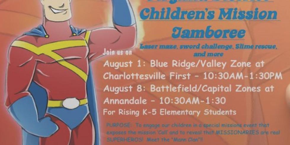 Children's Missions Jamboree - Blue Ridge/Valley Zones