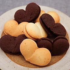 ハートのガナッシュサンドクッキー