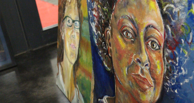 Artist Hub Self Portraits