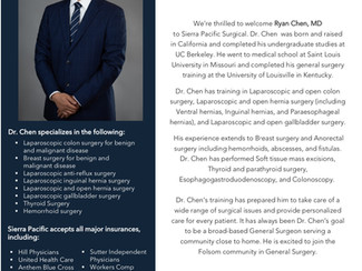 Welcome to Folsom | Dr. Chen