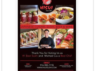 Food Photography | Hisui Sushi | Folsom
