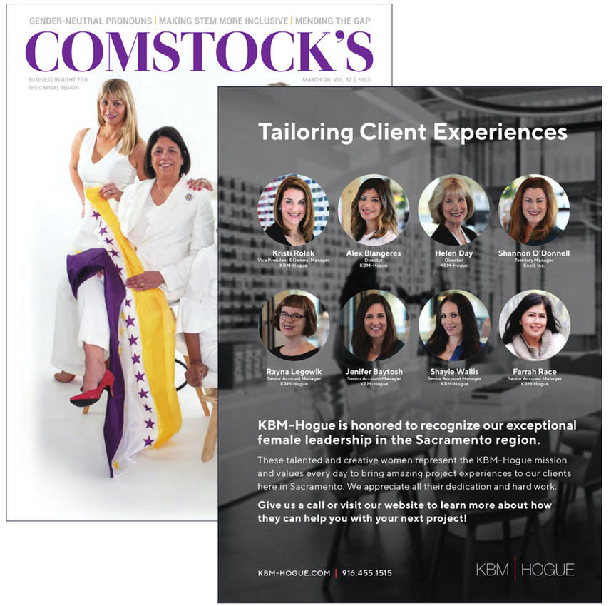 Comstock's Magazine Headshot Photography