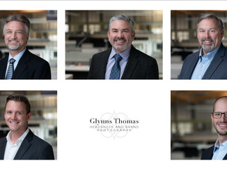 Headshots of the Executive Team of an Engineering Firm