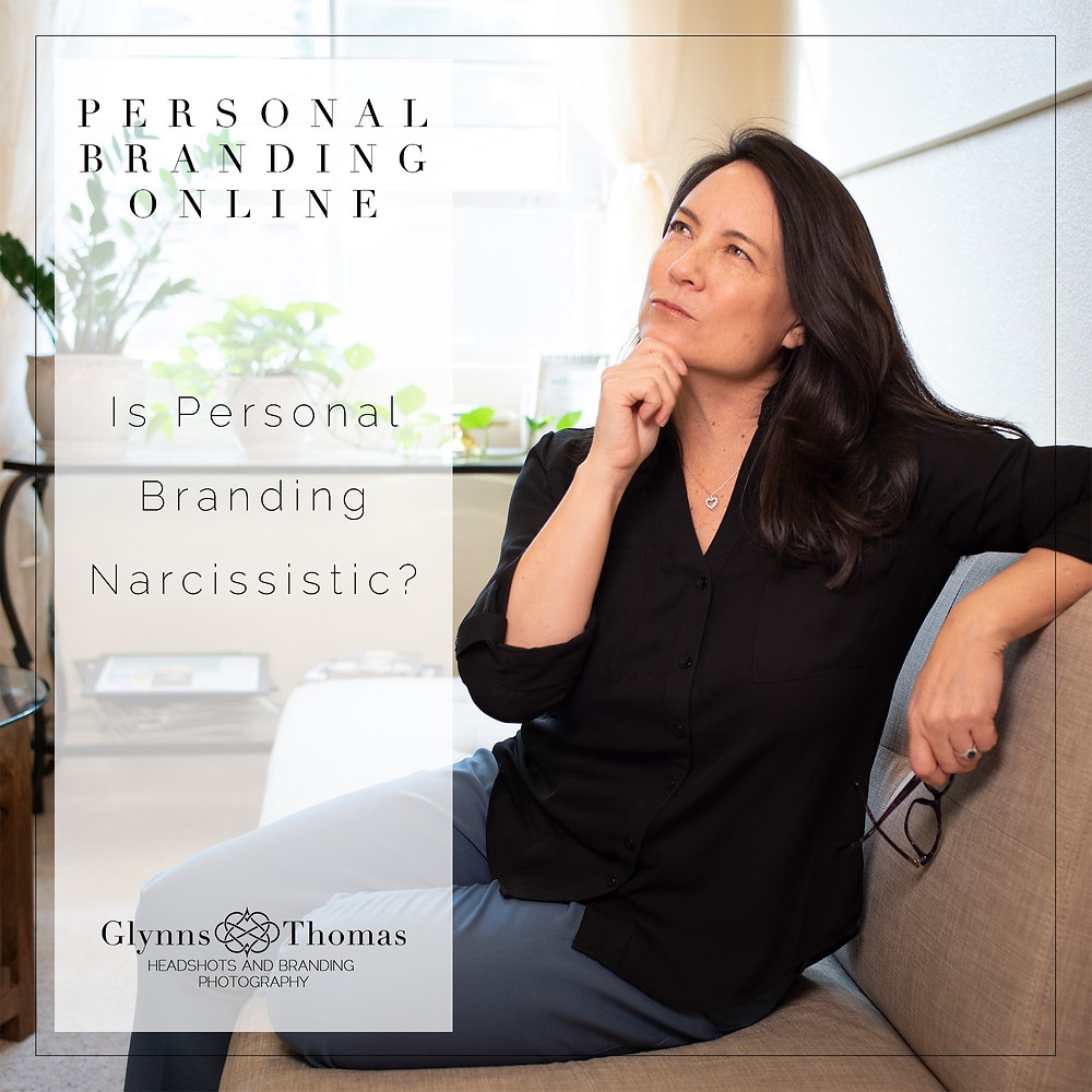 personal branding photography narcissistic