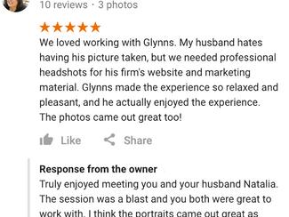 Professional Headshots | Testimonial