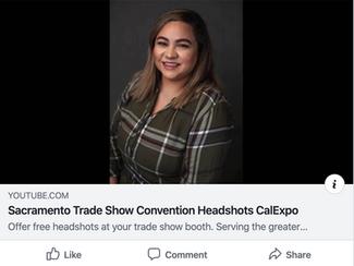 Trade Show Headshot Booth
