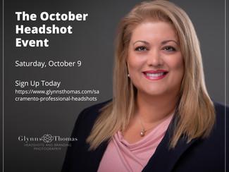 Sacramento October Headshots Event