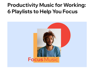 Need Help Focussing? Try These Productivity Playlists!