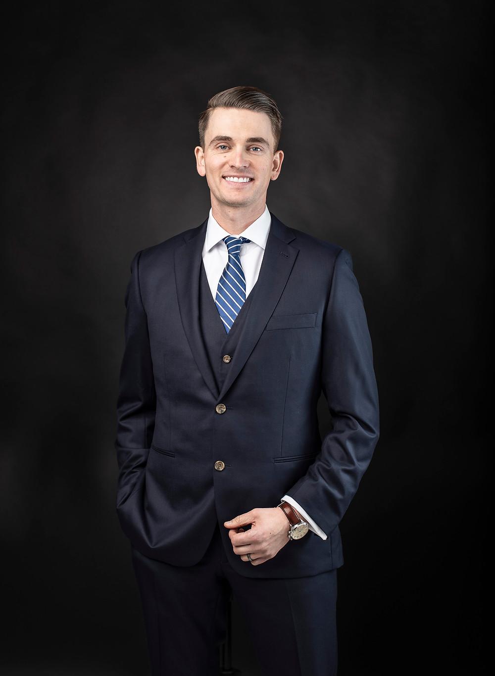 business portrait of a male senior vice president
