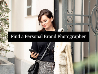 Find Your Personal Brand Photographer