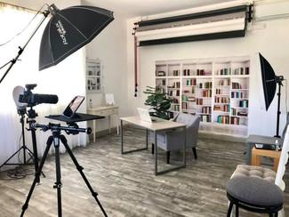 Home Office Portrait Set Up