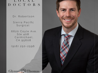 Business Portrait of a Doctor in Carmichael, CA
