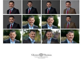 Business Portraits of a Tech Executive