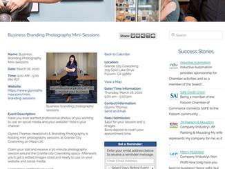 Marketing Photography Event | Folsom