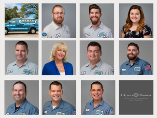 Headshots for an HVAC Company in Citrus Heights