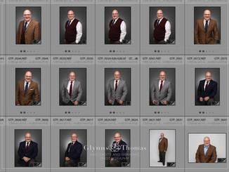 Folsom Lake College Professor Professional Business Portrait
