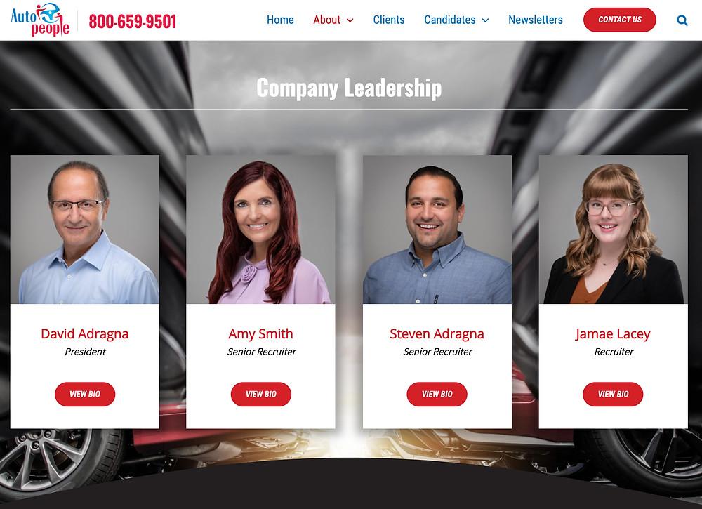 professional headshots of recruiters headhunters in El Dorado Hills CA