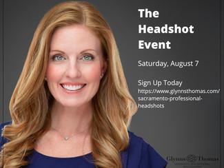 Sacramento August Headshot Event