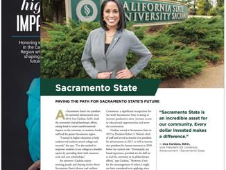 Sacramento State University Business Portrait