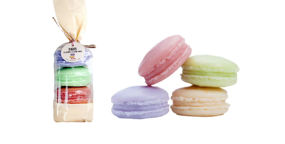 Macaron Bath Soaps