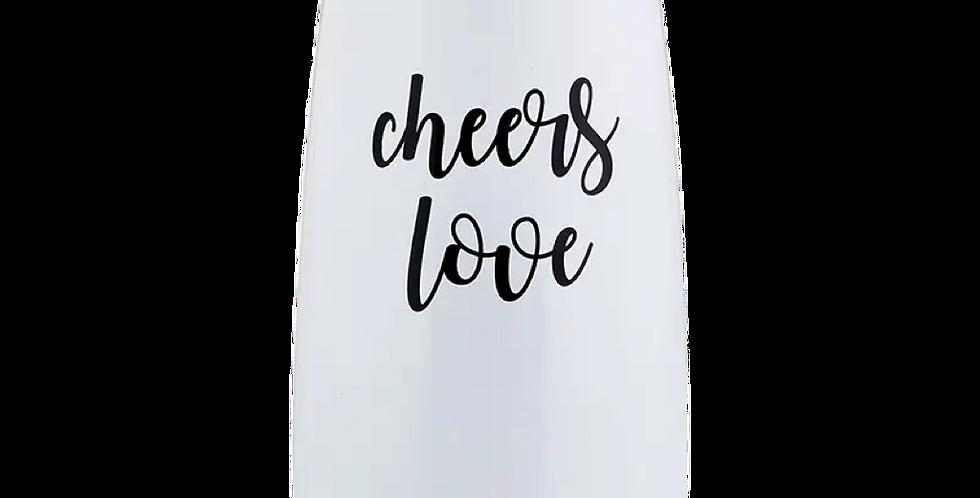 Champagne Tumbler: Cheers Love!