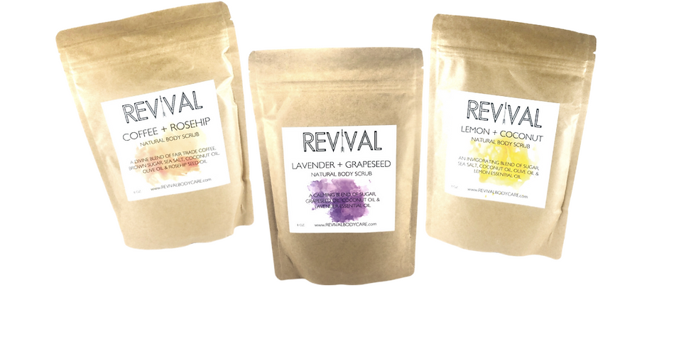 Revival Body Scrubs