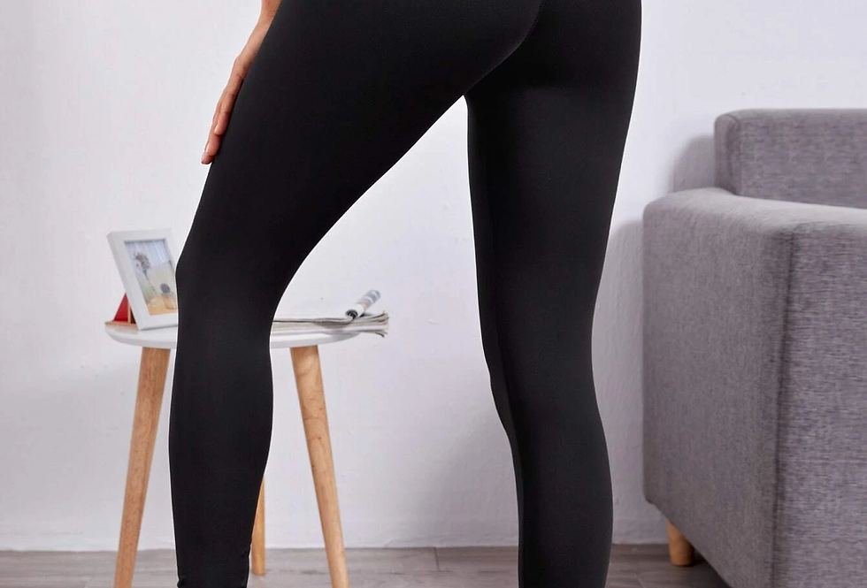 Criss Cross Back Sports Leggings