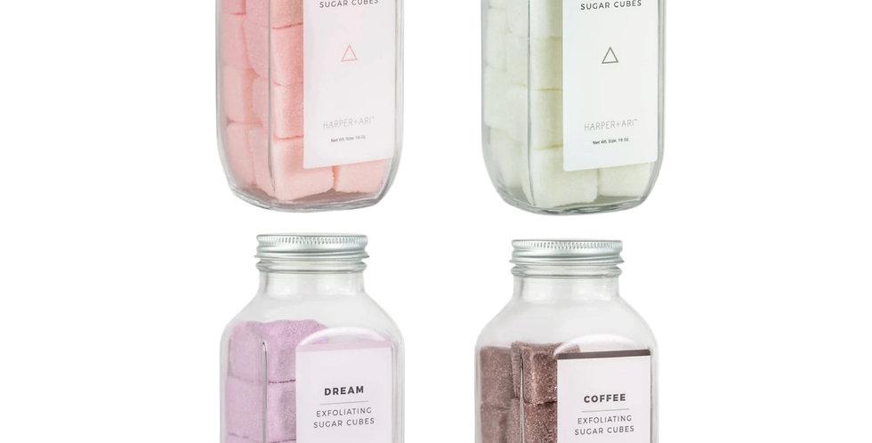 Sugar Cube Scrub Bottles